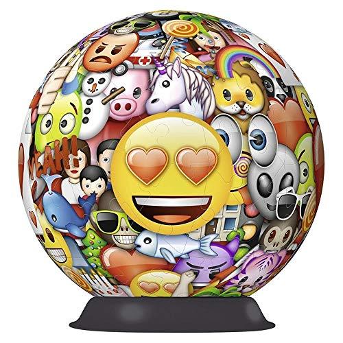 Ravensburger 12198 Emoji 72 Pieces 3D Jigsaw Puzzle
