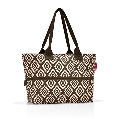 shopper e1 50 x 26,5 x 16,5 cm 50 x 35 x 16,5 cm expanded diamonds mocha