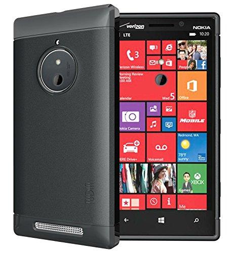 TUDIA LITE TPU Schutzhülle Nokia Lumia 830 Ultra Slim Hülle (Schwarz)