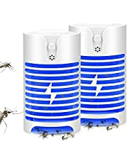 ELEAD Mosquito Killer Lamp Mosquito Repellent UV Light Ultrasonic Pest Insect Repellent Plug in Indoor Electronic Bug Pest Control No Traps Poison for Insects Mice Ants Spiders Rodents Roach(2 Pack)