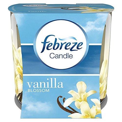 Febreze Odour Eleminating Candle, Vanilla Blossom Scented, 100 Gram