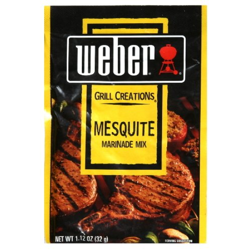 Weber Grill Marinade Mesquite, 1.12-Ounce (Pack of 12)