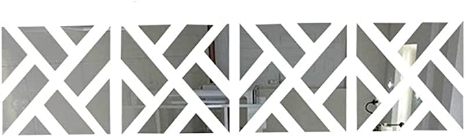 12 opinioni per Jroyseter 32Pcs Set Adesivi Murali Specchio con Adesivi Murali Specchio