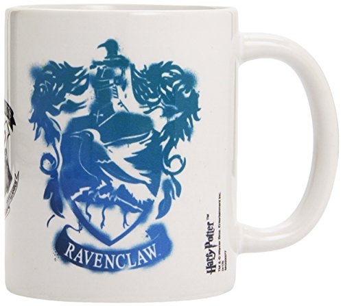Kaffeetasse-Ravenclaw Stencil Crest