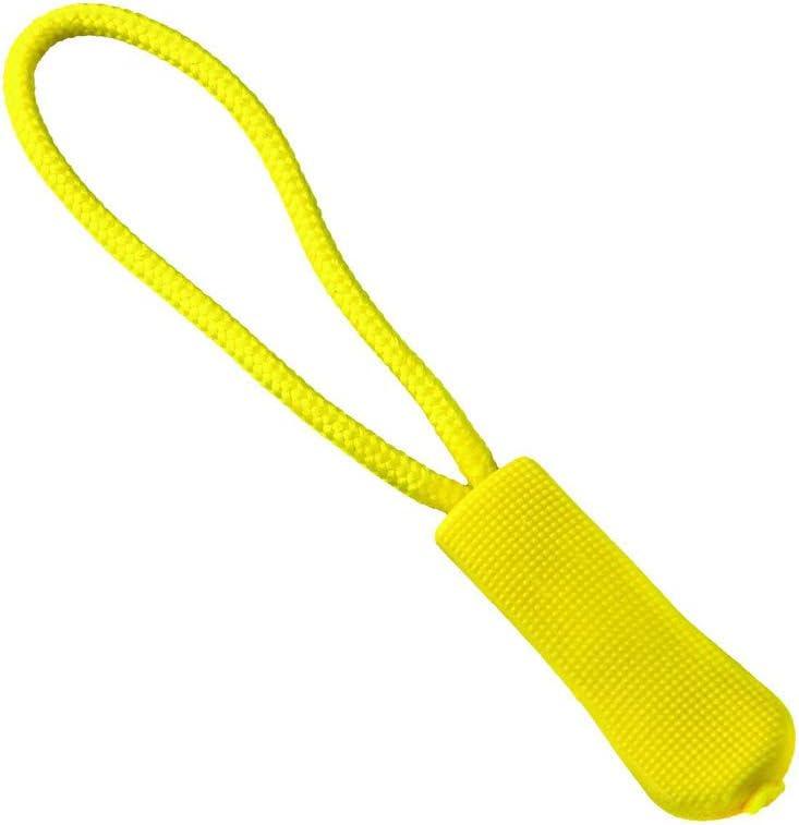 tirador de cuerda de repuesto cierre de cremallera cierre de cremallera Cooer 5//10//15//20 piezas de hebilla de clip para bolsas al aire libre 28 colores de viaje