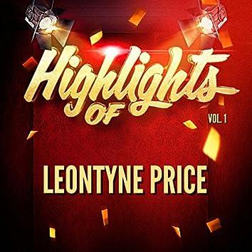 Highlights of Leontyne Price, Vol. 1