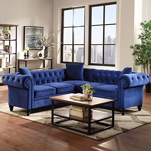 Best blue chesterfield