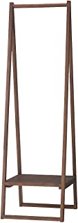 無印良品 ウォールナット材コートハンガー 幅44×奥行53.5×高さ150.5cm 37154476(設置・組立・引き取りあり ※一部地域のみ)