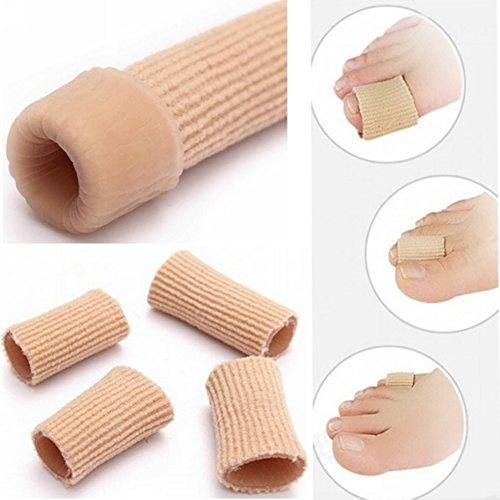 Tubes protecteurs pour orteils et pour doigts, gel protecteur des orteils - Tube pour éviter les oignons