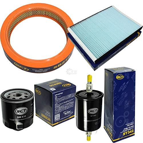 Preisvergleich Produktbild SCT Germany Inspektions Set Inspektionspaket Luftfilter Ölfilter Innenraumfilter Kraftstofffilter