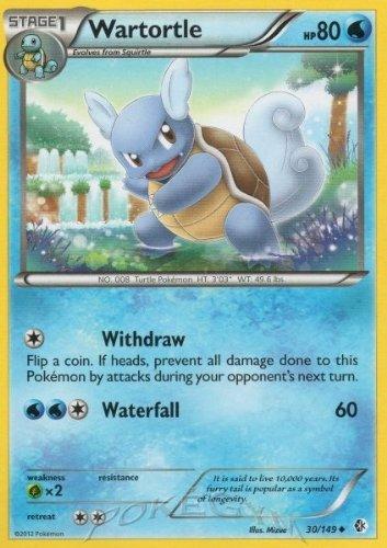 Pokemon - Wartortle (30/149) - BW - Boundaries Crossed