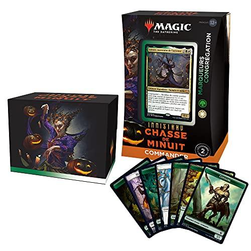 Magic: The Gathering- Deck Commander Innistrad : Chasse de Minuit – Marqueurs et congrégation