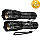 2000 Lumen Handheld Flashlight , Best Portable Tac light,Ultra Bright Outdoor Waterproof 18650