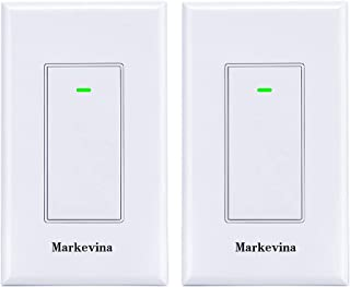 Smart WiFi Light Switch APP Control from Anywhere Compatible with Alexa Google Home, Timing Schedule