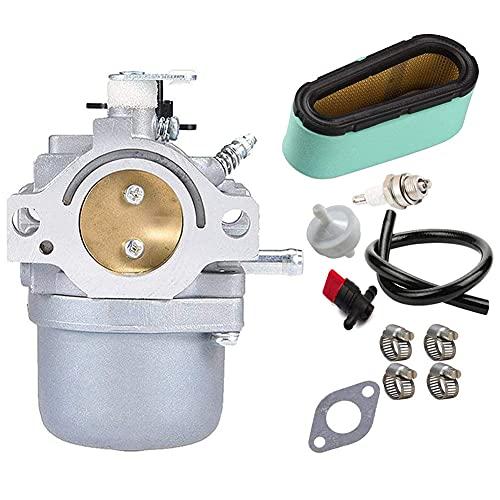 Apofly Kit Carburador, Filtro De Aire del Carburador Segadora Bobina De Encendido Juego De Big Bore Accesorios Pistón para La Segadora