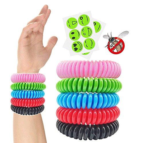 Beileer Mückenschutz Armband 15 Stück ,2 Pack Mückenschutz Patches ,für Reise Camping Indoor Outdoor