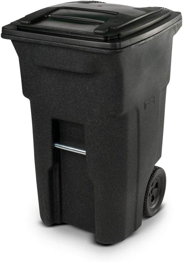 Toter 64 Lowest price challenge Gal Popular brand in the world Wheeled Can Trash Blackstone