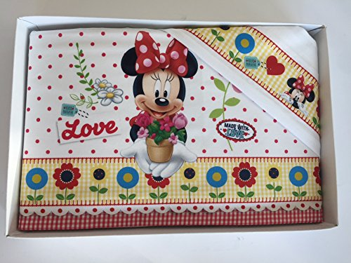 lenzuolini Berceau Lit Disney Minnie FUXIA BIANCO