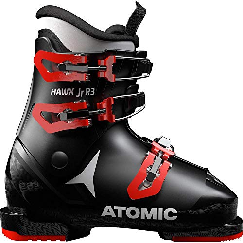 ATOMIC HAWX JR R3, Botas de esquí, Black/Red, 33 EU