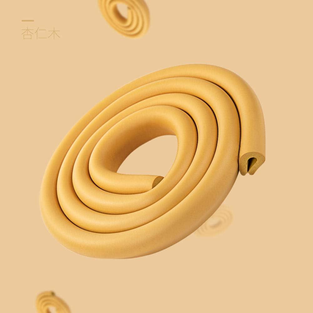 10 Coins Anti-collision bande de protection de lenfance Accueil Coin Protection Strip Table dangle ponce Table b/éb/é Stickers muraux Paquet Estomp/ée 10 m/ètres 22 M/ètres bande Rose,5m