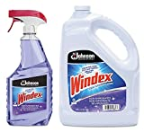 Windex Non-Ammoniated Multi-Surface Cleaner, 32oz Bottle + 1 Gallon Refill
