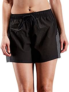 Neleus Women's Lightweight Running Shorts Workout Athletic Short for Yoga with Pocket