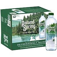 12-Pack Poland Spring Origin 100% Natural Spring Water, 30.4 Fl Oz