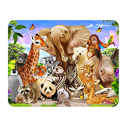 3D LiveLife Magnet - Wild Smile from Deluxebase. Lenticular 3D Safari Fridge Magnet. Magnetic decor for kids and adults with artwork licensed from renowned artist, David Penfound
