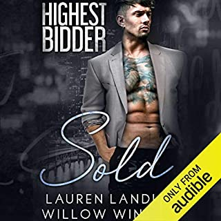 Sold audiobook cover art
