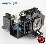 Woprolight NP07LP Lámpara de repuesto con carcasa para proyectores NEC
