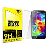 cogac Protector DE Pantalla Compatible para Samsung Galaxy S5 Mini G800F Cristal Vidrio Templado