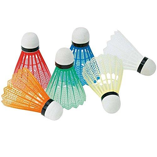 yangzhoujinbei Badminton-Bälle, nützlich, bunt, Kunststoff, geeignet für Kinder oder Erwachsene, Innen- und Außensport, zufällige Farbe, Herren, R