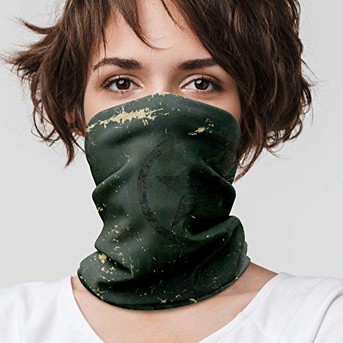 Cool Bedding - Ghetta per collo militare, bandana per uomo, fascia per la testa da donna, tubo per sciarpa, copertura del viso | B08 (5 bandane senza nave gratuita)