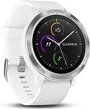 Garmin Vivoactive 3 Smartwatch con GPS y Pulso en la muñeca, Blanco, M/L (Reacondicionado)