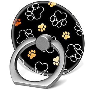 Phone ring with paw prints