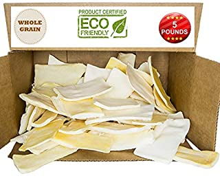 Premium Thick Cut Chips, Top Rawhide (Last Much Longer Than Traditional Chips). 100% Natural. Great Behavioral Dog Chew Treat Solution Bone. No Preservatives. (5 Pounds) (B0753ZGF4B) | Amazon price tracker / tracking, Amazon price history charts, Amazon price watches, Amazon price drop alerts