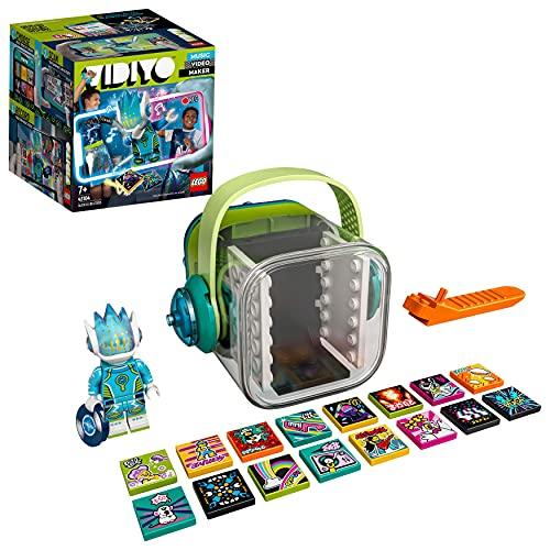 LEGO 43104 VIDIYO Alien DJ Beatbox, Creador de Vídeos Musicales, Juguete Realidad Aumentada, App Set con Mini Figura