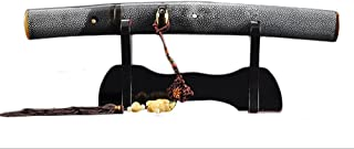 Handmade Sword Japanese Samurai Tanto Swords, Hand Forged, 1095 Carbon Steel, Clay Tempered, Full Tang, Sharp, Off White R...