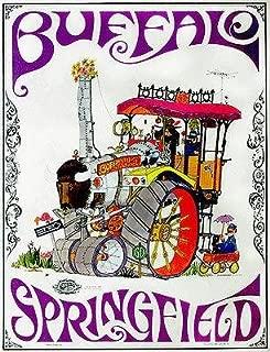 Buffalo Springfield - 1968 - Band Promo Poster