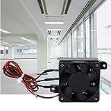 Riscaldatore ad aria per ventola per auto 220V Riscaldatore elettrico PTC Elemento riscaldante a risparmio energetico con temperatura costante automatica per piccoli spazi da 0,5 m³(24V 400W)