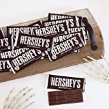 HERSHEY'S Milk Chocolate Candy Bars, 1.55-oz. Bars, Perfect for Stocking Stuffing, Holiday Parties and Gift Bags, 36 Count