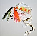 Fladen Mini Pulpo aparejos de pesca verde, naranja, rosa: 2/0