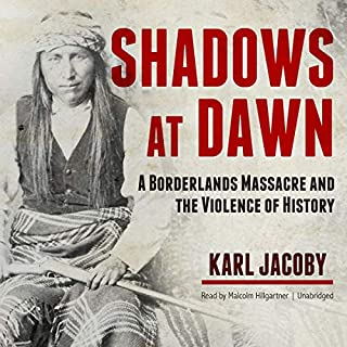 Shadows at Dawn audiobook cover art