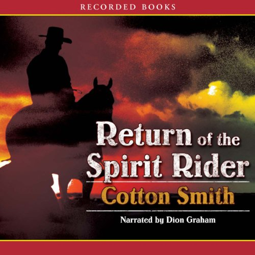 Return of the Spirit Rider audiobook cover art