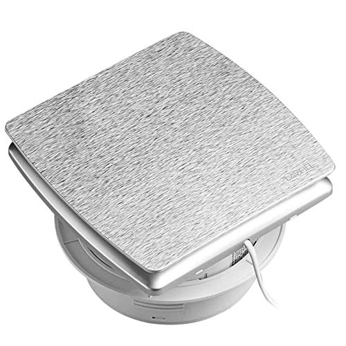 RJSODWL Ventilador de Escape para baño, Vidrio Instalado, Extractor de Intercambio de Aire de Alta Potencia, Cocina, Inodoro, Ventilador silencioso para Humos