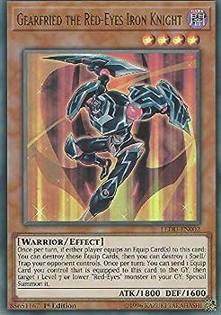 Gearfried the Red-Eyes Iron Knight - LEDU-EN002 - Ultra Rare - 1st Edition