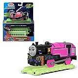 Thomas & Friends- Hyper Glow Ashima, Thomas Tanque y Sus Amigos Brillan en la Oscuridad del Motor Trackmaster, Multicolor, 0 (Mattel FWC53)
