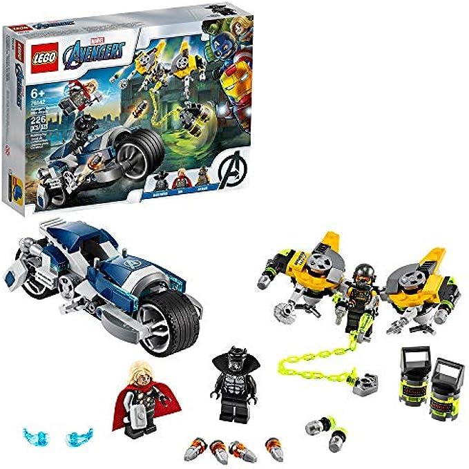 LEGO הנוקמים מתקפת האופנוע 76142 (new 2020)