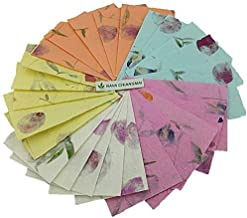Best handmade paper with petals Reviews