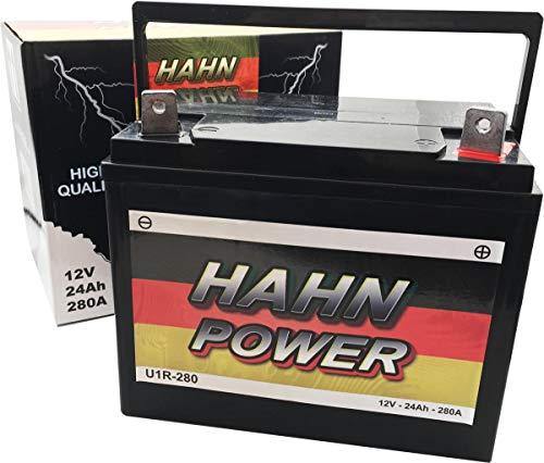 Batterie U1R-280 52440 Rasentraktor Aufsitzmäher HAHN POWER U1-R9 U1-9R U1R-9